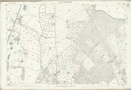 Shropshire VIII.13 (includes: Prees; Whitchurch Rural) - 25 Inch Map