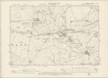 Derbyshire XVI.NW - OS Six-Inch Map