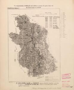 Religion and language maps of Lublin province, Poland no.05