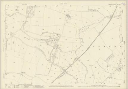 Yorkshire XXV.7 (includes: Aldbrough; Barton; Manfield; Newton Morrell) - 25 Inch Map