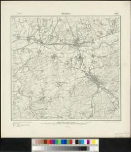 Messtischblatt 2580 : Menden, 1907 Menden