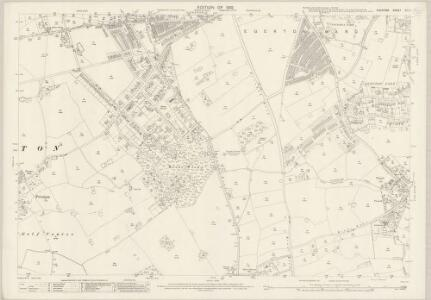 Cheshire XIII.11 (includes: Bebington and Bromborough; Birkenhead St Mary; Storeton) - 25 Inch Map