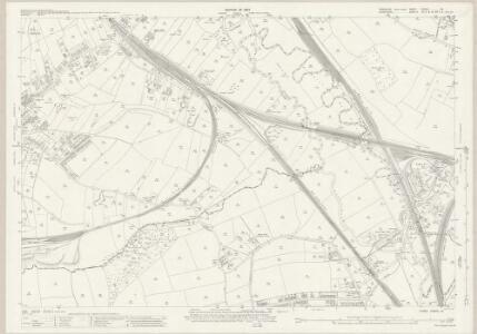 Yorkshire CCXCV.15 (includes: Aston Cum Aughton; Beighton; Sheffield; Wales) - 25 Inch Map