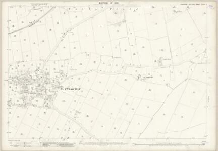 Yorkshire CCLVI.4 (includes: Patrington; Welwick) - 25 Inch Map