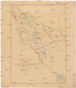 Reconnaissance map of the Salton Sick California