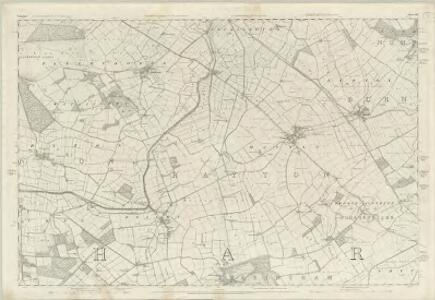 Yorkshire 193 - OS Six-Inch Map