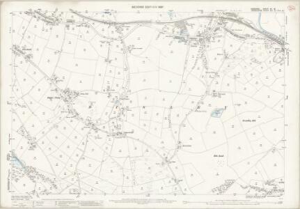 Cheshire XX.15 (includes: Disley; Lyme Handley; New Mills; Whaley Bridge) - 25 Inch Map