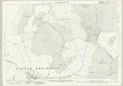 Bedfordshire XXIV.5 (includes: Bletchley; Bow Brickhill; Great Brickhill; Little Brickhill) - 25 Inch Map