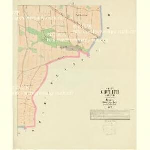 Grulich - c3491-1-006 - Kaiserpflichtexemplar der Landkarten des stabilen Katasters