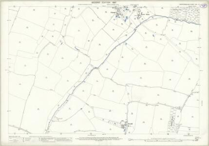 Hertfordshire XXII.12 (includes: High Wych; Little Hadham; Much Hadham; Thorley) - 25 Inch Map