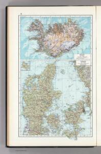51.  Iceland, Denmark.  The World Atlas.