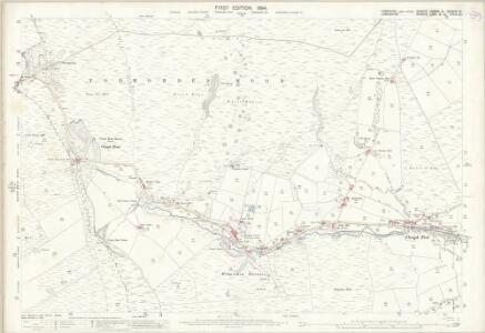 Yorkshire CCXXIX.9 (& CCXXIXA.12) (includes: Bacup; Todmorden) - 25 Inch Map