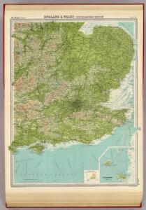 England & Wales, south-eastern section; Channel Islands.