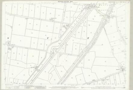 Cambridgeshire XXV.13 (includes: Sutton) - 25 Inch Map
