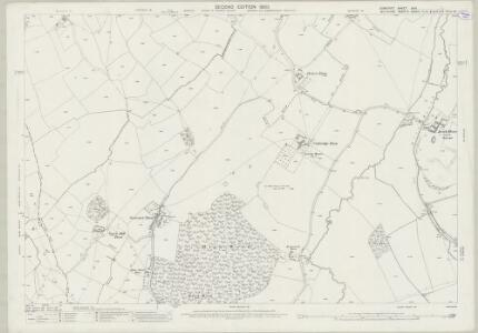 Somerset XXXI.1 (includes: Beckington; Dilton Marsh; Heywood; North Bradley; Southwick; Westbury) - 25 Inch Map