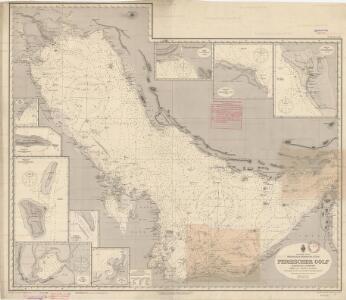Indischer ozean Arabische et Persische Küste Persische golfHerausgeben vom REICHS-MARINE-AMT