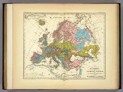 Europa in Geologischer Beziehung.