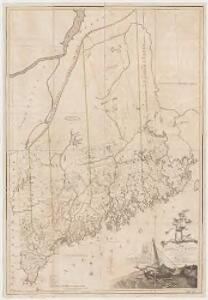Map of the district of Maine, Massachusetts : compiled from actual surveys