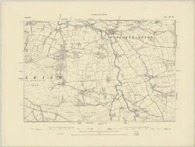 Devonshire XLI.NE - OS Six-Inch Map