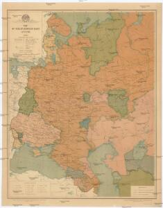 Map of the european part of USSR