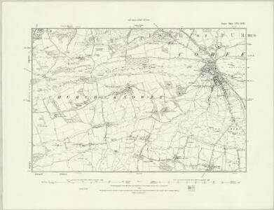 Dorset LVI.SE - OS Six-Inch Map