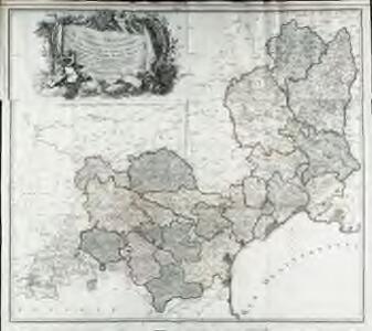 Carte générale de la province de Languedoc