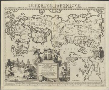 Imperium Japonicum : per regiones digestum sex et sexaginta atque ex ipsorum japonensium mappis