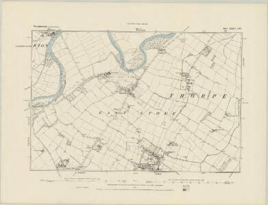 Nottinghamshire XXXIV.NE - OS Six-Inch Map