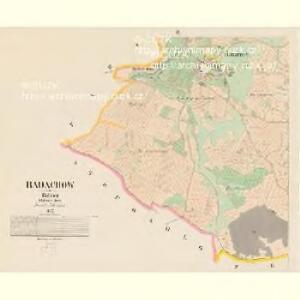 Radachow - c6369-1-002 - Kaiserpflichtexemplar der Landkarten des stabilen Katasters