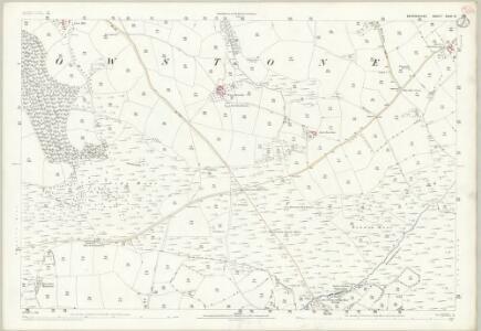 Devon XXIII.14 (includes: Knowstone) - 25 Inch Map