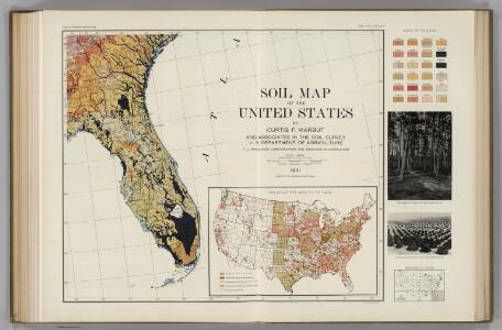 Soil Map of the United States, Section 9.  Atlas of American Agriculture.