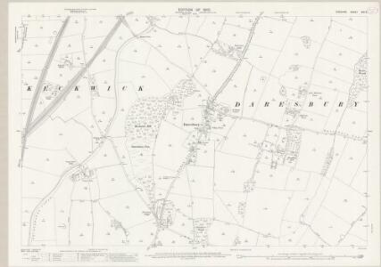 Cheshire XXV.2 (includes: Daresbury; Hatton; Moore; Norton; Preston Brook; Walton) - 25 Inch Map