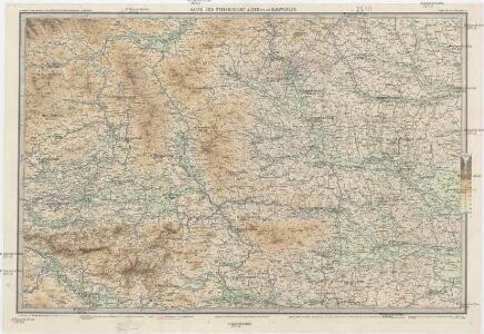 Karte der Steierischen Alpen und der Karawanken