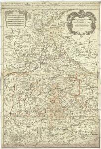Le cercle de Baviere, subdivisé en touts les estats qui le composent
