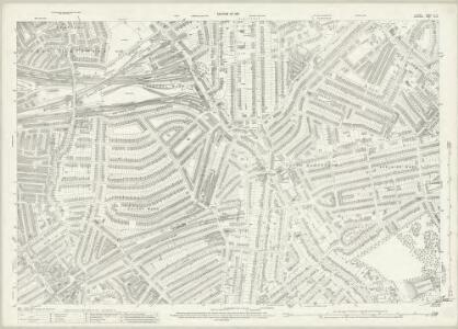 London (1915- Numbered sheets) IV.4 (includes: Hampstead; St Marylebone) - 25 Inch Map