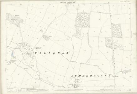Durham XLVIII.10 (includes: Denton; Headlam; Killerby; Morton Tinmouth; Summerhouse) - 25 Inch Map