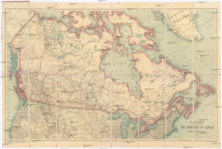 Stanford's general map of the Dominion of Canada and Newfoundland