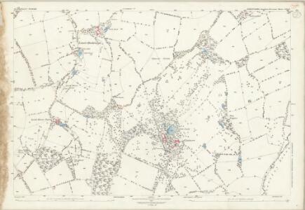 Shropshire LIX.15 (includes: Bobbington; Claverley) - 25 Inch Map
