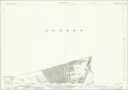 Surrey VII.7 (includes: Wandsworth Borough; Wimbledon St Mary) - 25 Inch Map