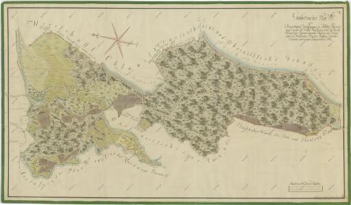 Geometrický plán lesa Vochozka a deputátních pozemků baštýře na Nové Řece
