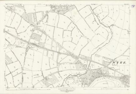 Worcestershire XLI.8 (includes: Hill and Moor; Pershore; Pinvin; Throckmorton; Wick; Wyre Piddle) - 25 Inch Map