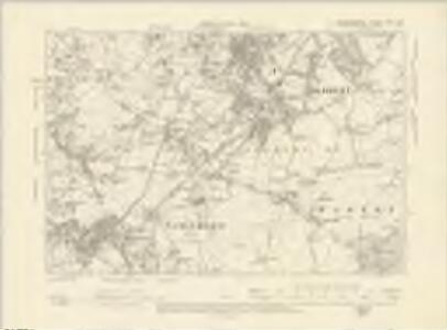 Staffordshire LXXII.NW - OS Six-Inch Map