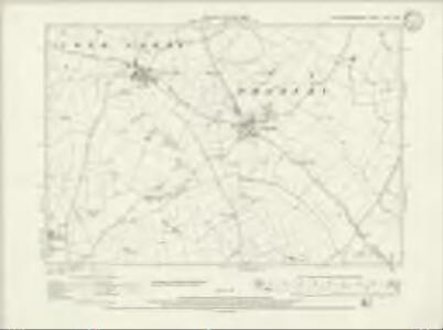 Northamptonshire XXX.NW - OS Six-Inch Map