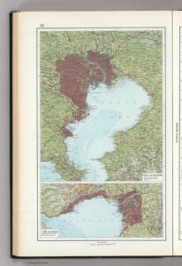 125.  Tokyo and Yokohama.  Kobe and Osaka.  The World Atlas.