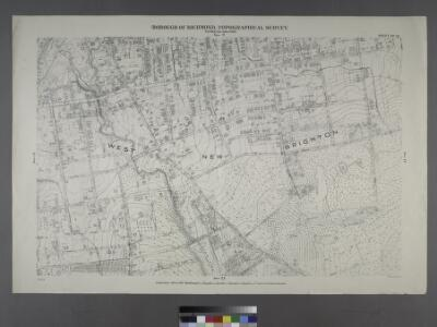 Sheet No. 16. [Includes West New Brighton (West Brighton) and (Port Richmond).]