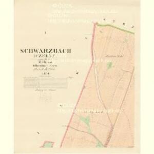 Schwarzbach (Czerny) - m0387-1-001 - Kaiserpflichtexemplar der Landkarten des stabilen Katasters