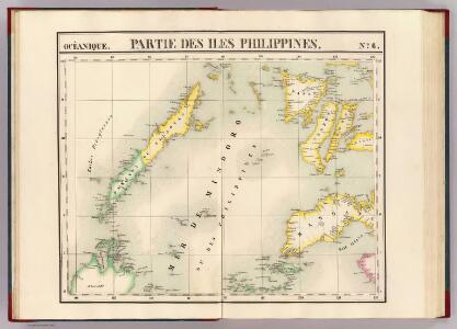 Partie, Iles Philippines. Oceanique no. 6.