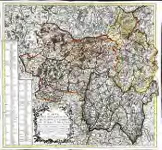 Carte des départemens de Saone et Loire, du Jura et de l'Ain