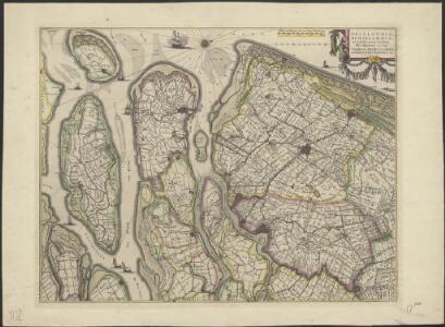 Delflandia, Schielandia, et insulae trans Mosam illis objacentes ut sunt Voorna, Overflackea, Goerea, Yselmonda, etc