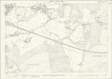 Berkshire XXXIX.14 (includes: Easthampstead; Warfield; Winkfield) - 25 Inch Map